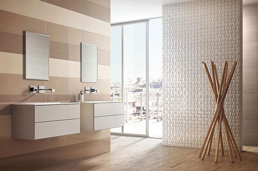 bagno in parquet. amazing moderno stanza da bagno by parquet by ... - Arredo Bagno Con Parquet