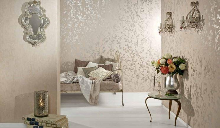 Resine per pavimenti e rivestimenti casa del bagno inn a for Carta da parati per soggiorno classico